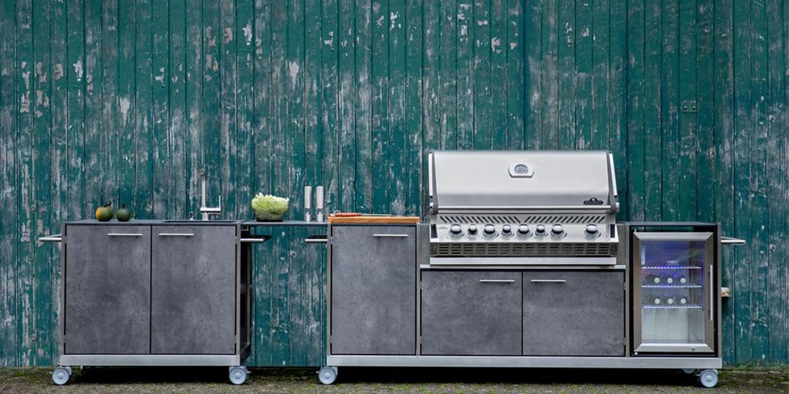 Outdoor-Küche für das Kocherlebnis draußen | manuu Möbel